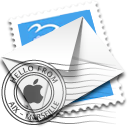 email, envelope, mail, stamp icon
