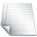 page, file, document, paper icon