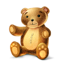 teddy, bear icon