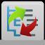 contenido, reordenar el icono