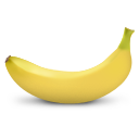banana, fruit icon
