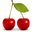 berries, cherry, fruit, vegetable icon