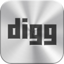 digg, icon, iphone icon