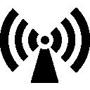 podcast, radio, signal, tower icon